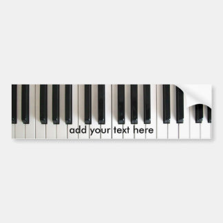 Adesivo Para Carro piano da música