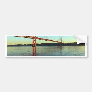 Adesivo Para Carro Ponte 25 de Abril, LIsboa, Portugal