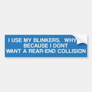 Adesivo Para Carro Porque eu uso meus faróis intermitentes