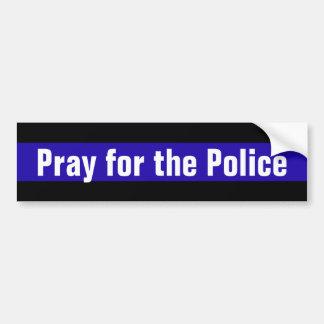 Adesivo Para Carro Pray para a polícia