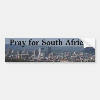 Adesivo Para Carro Pray para África do Sul