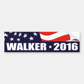 Adesivo Para Carro Presidente 2016 do caminhante de Scott