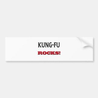 Adesivo Para Carro Rochas de Kung-Fu