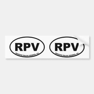 Adesivo Para Carro RPV Rancho Palos Verdes