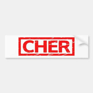 Adesivo Para Carro Selo de Cher