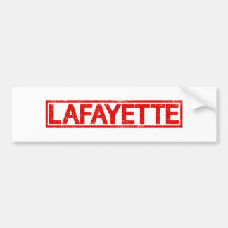 Adesivo Para Carro Selo de Lafayette