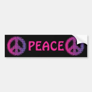 Adesivo Para Carro Símbolo de paz de intervalo mínimo
