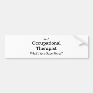 Adesivo Para Carro Terapeuta ocupacional