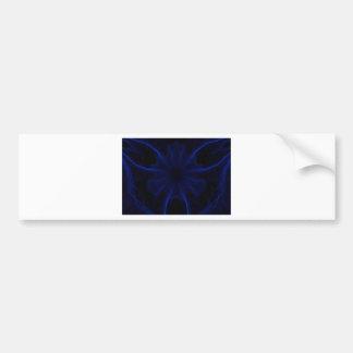 Adesivo Para Carro teste padrão azul do laser