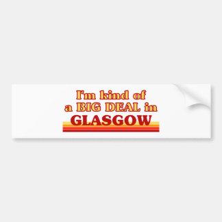 Adesivo Para Carro Tipo de I´m de uma grande coisa em Glasgow