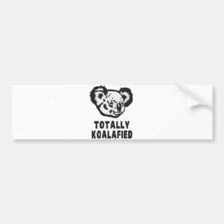 Adesivo Para Carro Totalmente Koala de Koalafied