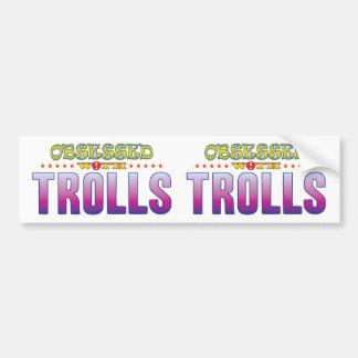 Adesivo Para Carro Troll 2 obcecados