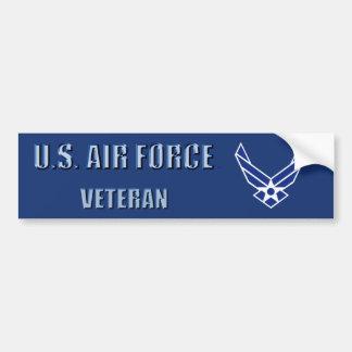 Adesivo Para Carro U.S. Autocolante no vidro traseiro do veterano da