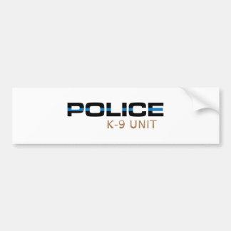 Adesivo Para Carro Unidade da polícia K-9