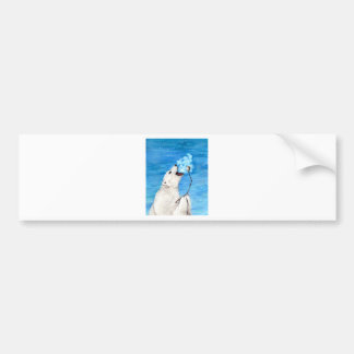 Adesivo Para Carro Urso polar com Marshmallow brindado