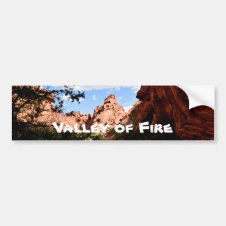 Adesivo Para Carro Vale do fogo Nevada