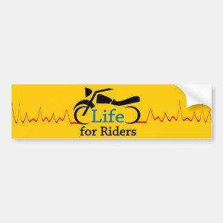 Adesivo Para Carro Vida para cavaleiros - relógio para motocicletas