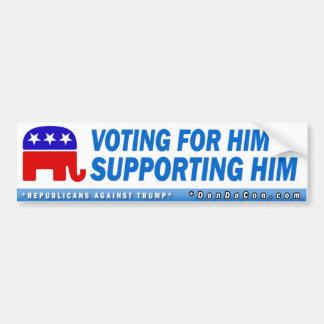 Adesivo Para Carro Votação para ele