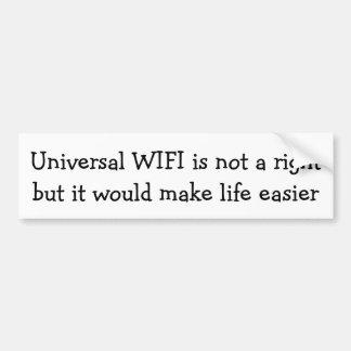 Adesivo Para Carro WIFI universal não é um direito…