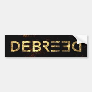 Adesivo para-choque - Debreed Dourado