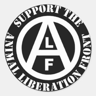 Adesivo Parte dianteira de libertação animal do apoio do