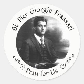 Adesivo Pier Giorgio Frassati abençoado