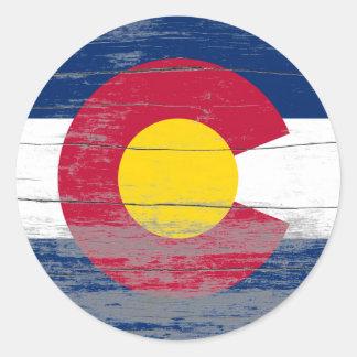 Adesivo Pintura velha de Colorado