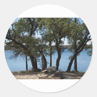 Adesivo Piquenique no lago