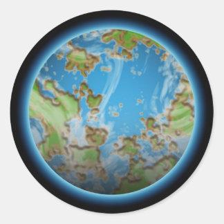 Adesivo Planeta do poder