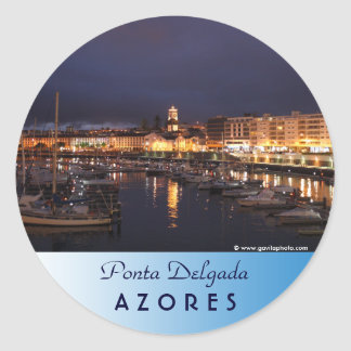 Adesivo Ponta Delgada na noite