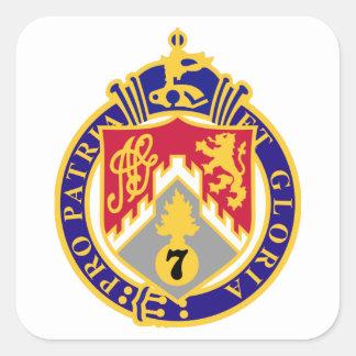 Adesivo Quadrado 107th Regimento de infantaria