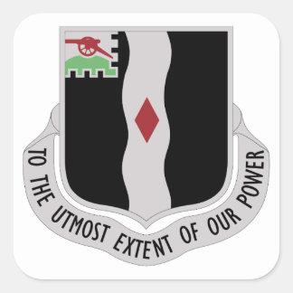 Adesivo Quadrado 60th Regimento de infantaria