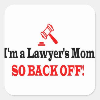 Adesivo Quadrado A mamã do advogado