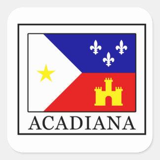 Adesivo Quadrado Acadiana