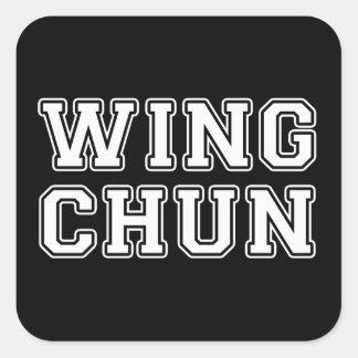 Adesivo Quadrado Asa Chun