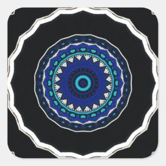 Adesivo Quadrado Azulejo ÁRABE Iznik do vintage, Turquia, século