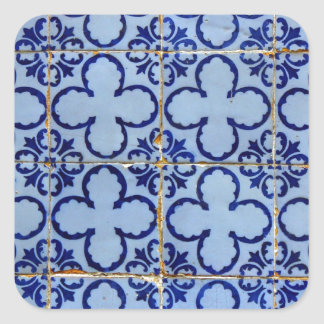 Adesivo Quadrado Azulejos, Portuguese Tiles