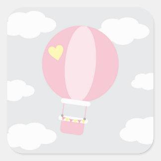Adesivo Quadrado balão