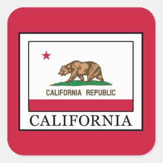 Adesivo Quadrado Califórnia