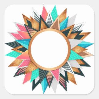 Adesivo Quadrado círculo