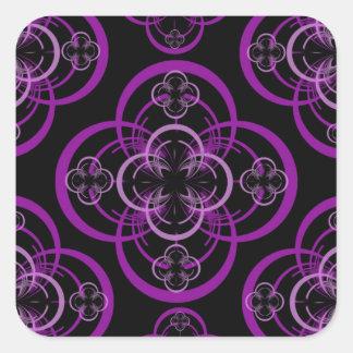 Adesivo Quadrado Círculo geométrico
