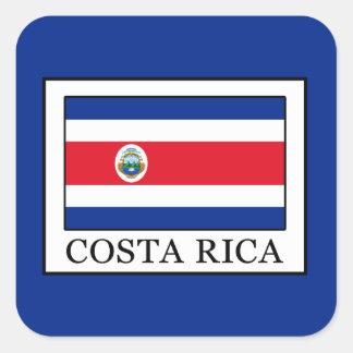 Adesivo Quadrado Costa Rica