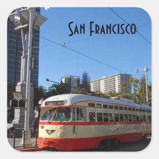 Adesivo Quadrado Eléctrico San Francisco