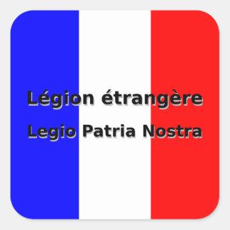 Adesivo Quadrado Etrangere da legião - Legio Patria Nostra