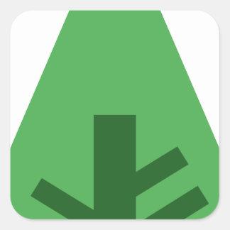 Adesivo Quadrado Forrest