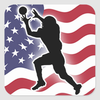 Adesivo Quadrado Futebol - Catch&Score
