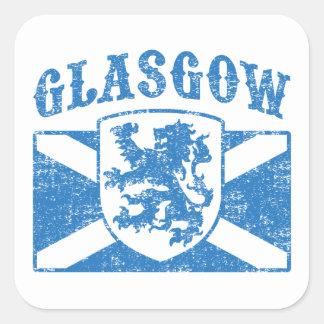 Adesivo Quadrado Glasgow Scotland