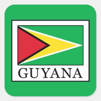 Adesivo Quadrado Guyana