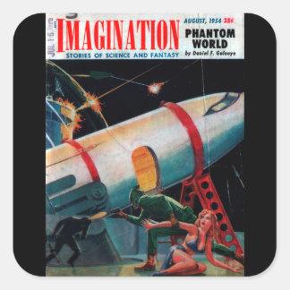 Adesivo Quadrado Imaginação - arte 1954-8_Pulp