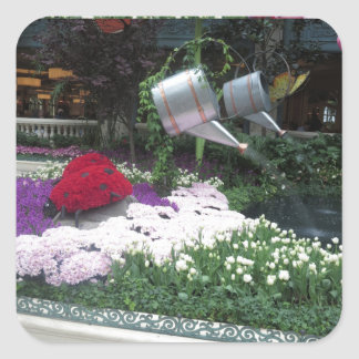 Adesivo Quadrado Joaninhas do parque da borboleta de Las Vegas do